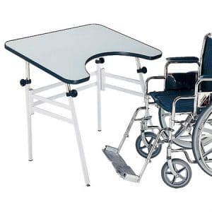 Deluxe Folding Personal Worktable L Mesas con ecoposturas - Doctor's Choice